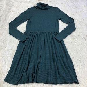 Just Female Turtleneck Long Sleeve Shift Dress